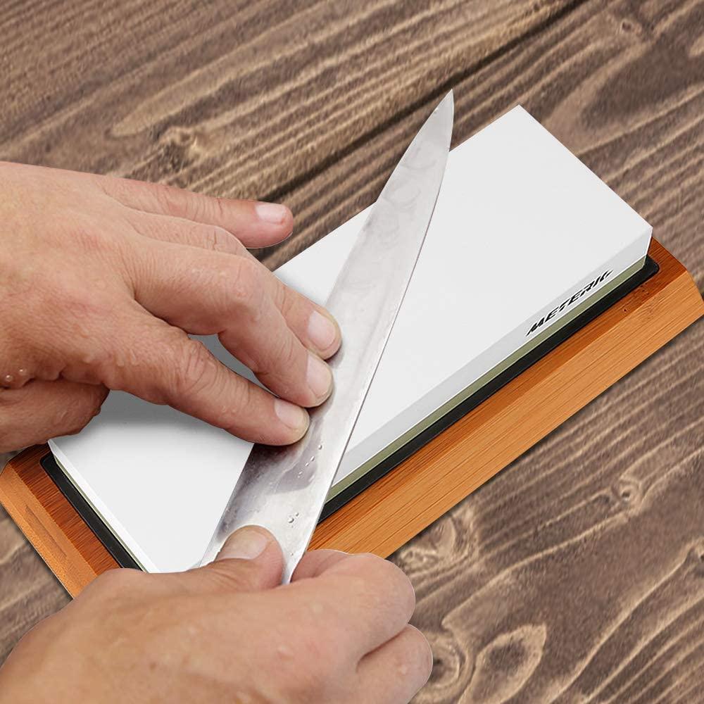 砥石を使った包丁の研ぎ方