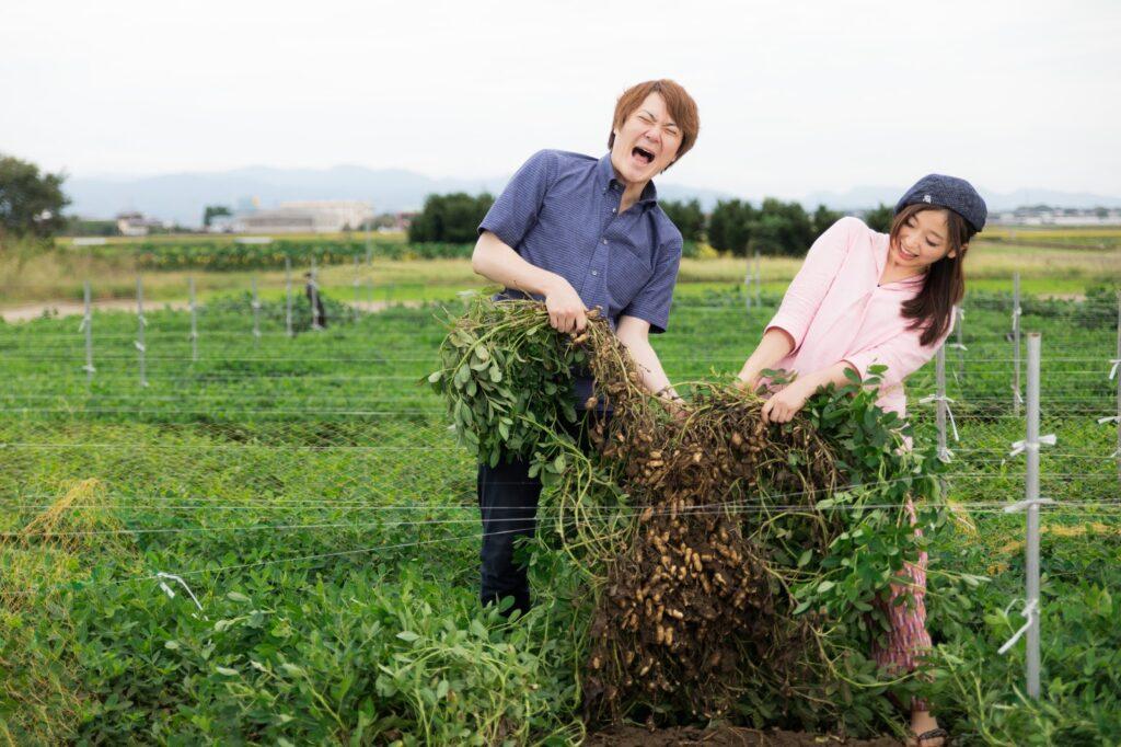 1年間通して農作業を楽しめる